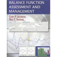 Balance Function Assessment and Management (Book with DVD-RO..., 9781597561006