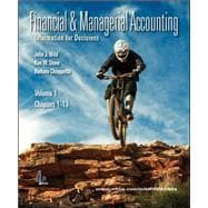 Financial and Managerial Accounting Vol 1 (Ch 1-13) softcover w/Working Papers + Connect Plus,9780077971007