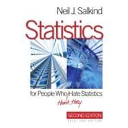 Statistics for People Who (Think They) Hate Statistics : Exc..., 9781412971027  