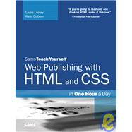 Sams Teach Yourself Web Publishing With Html and Css: In One..., 9781435281035  