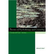 Theories of Psychotherapy and Counseling Concepts and Cases (with InfoTrac),9780534531041