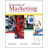 Essentials of Marketing A Marketing Strategy Planning Approach