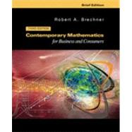 Contemporary Mathematics For Businesses And Consumers, Brief With 2003 Tax Update,9780324301069