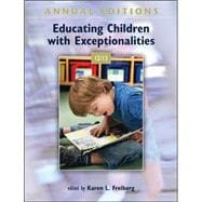 Annual Editions: Educating Children with Exceptionalities 12/13,9780078051081