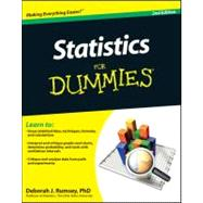 Statistics For Dummies, 9780470911082  