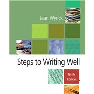 Steps to Writing Well with Infotrac