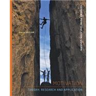 Motivation : Theory Research and Applications,9781111841096