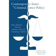 Contemporary Issues in Criminal Justice Policy,9780495911098