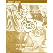 Study Guide : Used with ... Bernstein-Essentials of Psychology,9780618381104