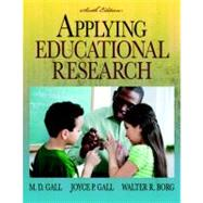Applying Educational Research (with MyEducationLab),9780136101130