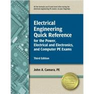 Electrical Engineering Quick Reference for the Power, Electr..., 9781591261131  