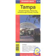 Tampa: Temple Terrace, Plant City Hillsborough County, Florida : Trakker Maps