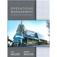 Operations Management,9780132921145