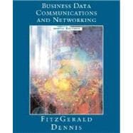 Business Data Communications and Networking, 9th Edition,9780471771166