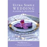 Ultra-Simple Wedding Planner and Organizer, 9781936061167  