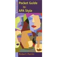 Pocket Guide to Apa Style,9780618691197