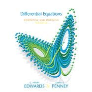 Differential Equations Computing and Modeling Value Package (includes Student Solutions Manual),9780136001201