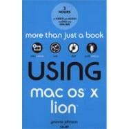 Using Mac OS X Lion, 9780789741202