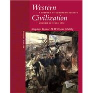 Western Civilization A History of European Society, Volume II: Since 1550 (with CD-ROM)