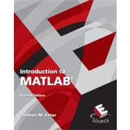 Introduction to Matlab,9780136081234
