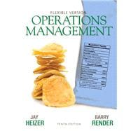 Operations Management Flexible Version Plus Lecture Guide and Activities Manual Plus NEW MyOMLab with Pearson eText -- Access Card Package