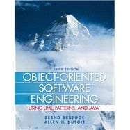 Object-Oriented Software Engineering : Using UML, Patterns, and Java,9780136061250