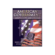 American Government: Continuity and Change, Texas Edition With Lp.Com Access Card,9780321101259