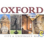 Oxford Popout Map: City & University Map