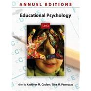 Annual Editions: Educational Psychology 12/13,9780078051296