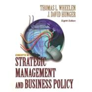 Concept of Strategic Management and Business Policy