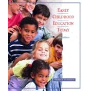 Early Childhood Education Today,9780130191311