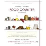 The Most Complete Food Counter : 2nd Edition, 9781451621327  