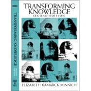 Transforming Knowledge, 9781592131327
