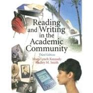 Reading And Writing In The Academic Community,9780131931336