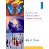 Business and Administrative Communication with CD, PowerWeb, and BComm Skill Booster