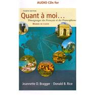 Audio CD (Stand Alone) for Bragger/Rice's Quant a moi...