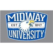 Midway University EST 1847 Decal