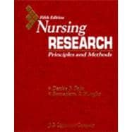 Nursing Research : Principles and Methods,9780397551385