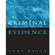 Criminal Evidence,9780495001386