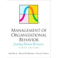 Management of Organizational Behavior : Leading Human Resources,9780131441392
