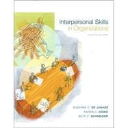 Interpersonal Skills in Organizations,9780072881394