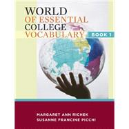 World of Essential College Vocabulary Book 1,9781111831394