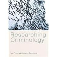 Researching Criminology, 9780335221400