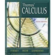 Thomas' Calculus,9780201441413