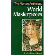 Norton Anthology of World Masterpieces,9780393961416