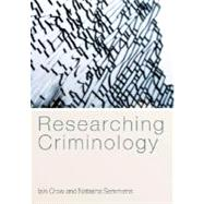 Researching Criminology, 9780335221417
