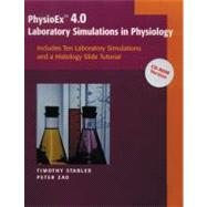 PhysioEx(TM) V4.0: Laboratory Simulations in Physiology (Stand alone) CD-ROM version