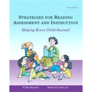 Strategies for Reading Assessment and Instruction: Helping E..., 9780131721456
