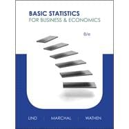 Basic Statistics for Business and Economics,9780073521473
