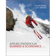 Applied Statistics in Business and Economics,9780073521480